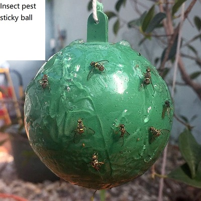 Insect sticky ball
